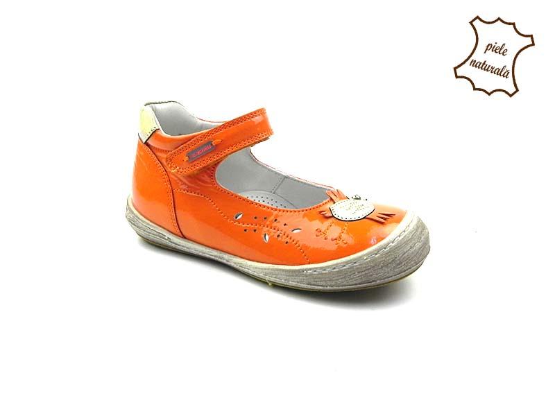 Pantofi din piele naturala BAM 449