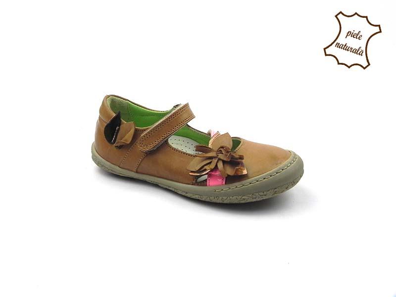 Pantofi din piele naturala BAM 451