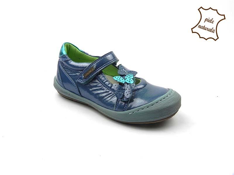 Pantofi din piele naturala BAM 453