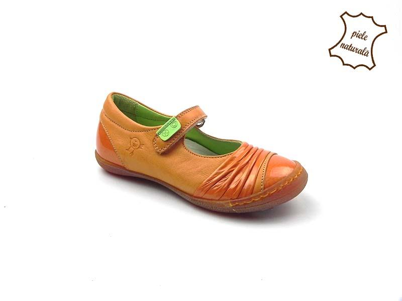 Pantofi din piele naturala BAM 454