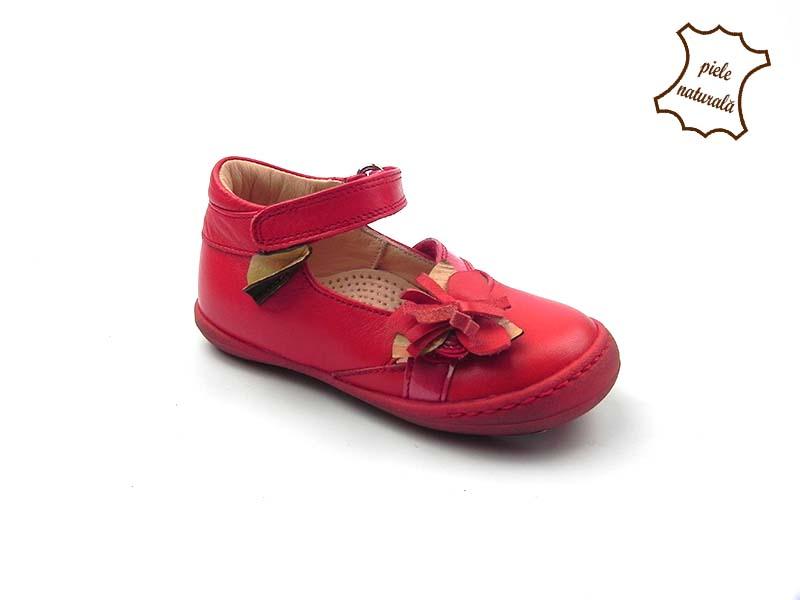 Pantofi din piele naturala BAM 456