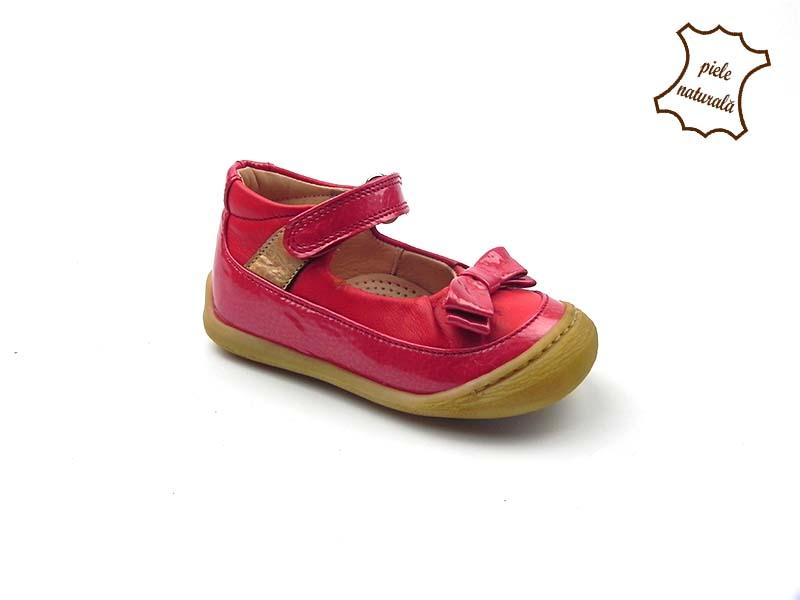 Pantofi din piele naturala BAM 457