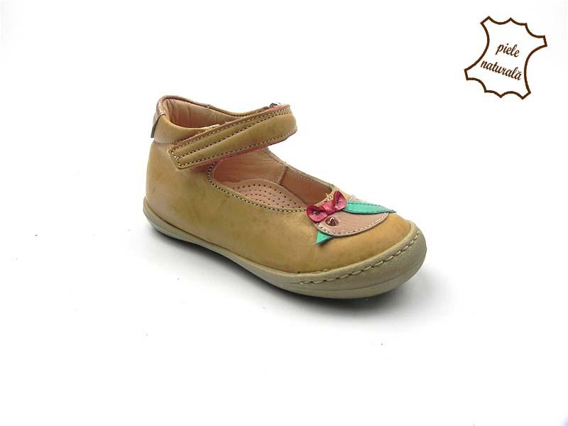 Pantofi din piele naturala BAM 458