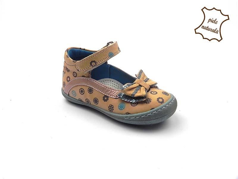 Pantofi din piele naturala BAM 460