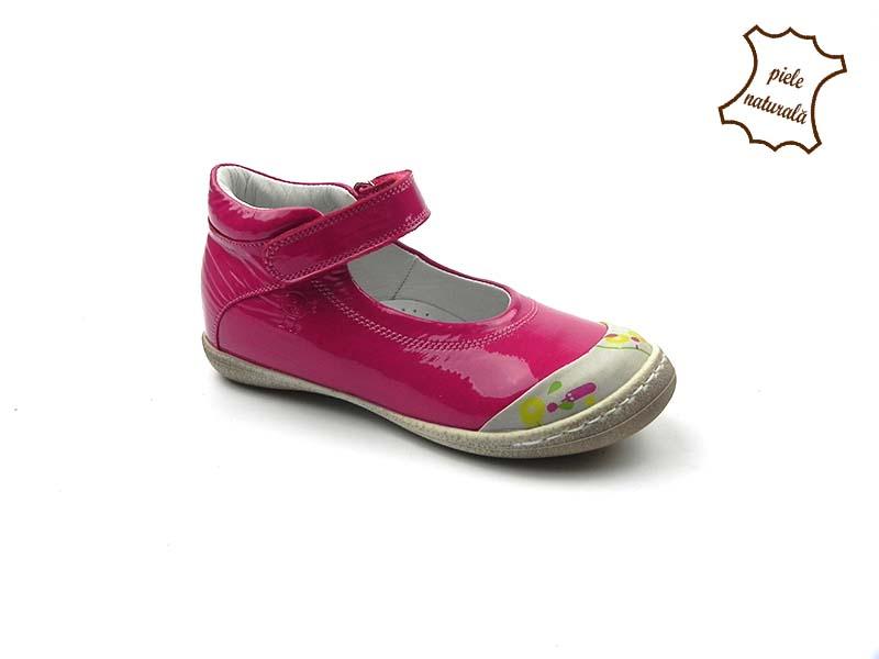 Pantofi din piele naturala BAM 461