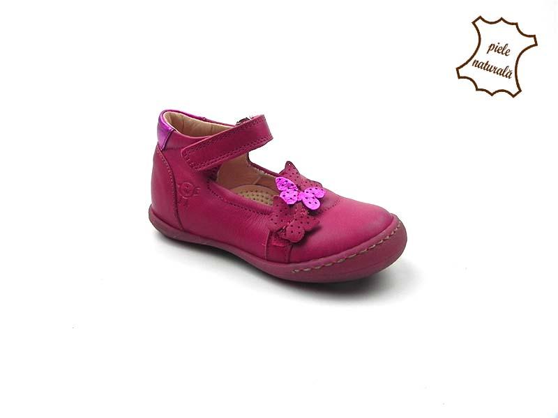 Pantofi din piele naturala BAM 463