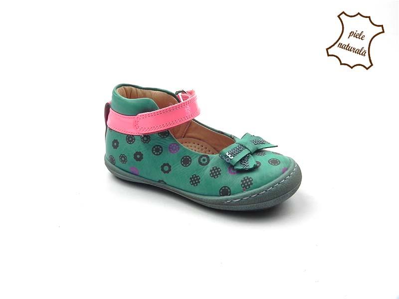Pantofi din piele naturala BAM 464