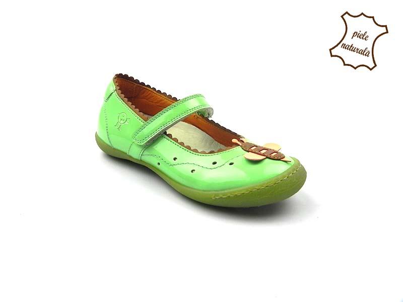Pantofi din piele naturala BAM 466