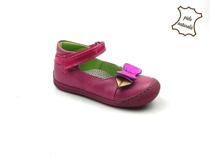 Pantofi din piele naturala BAM 470