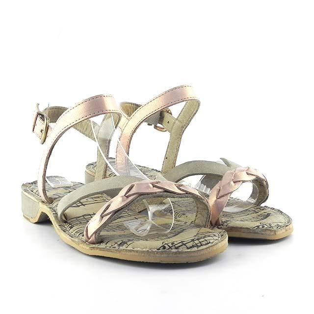 Sandale din piele naturala Briseia PT 196