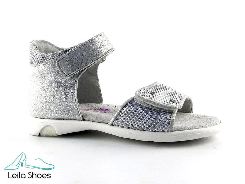 Sandalete din piele si textil BAM 351