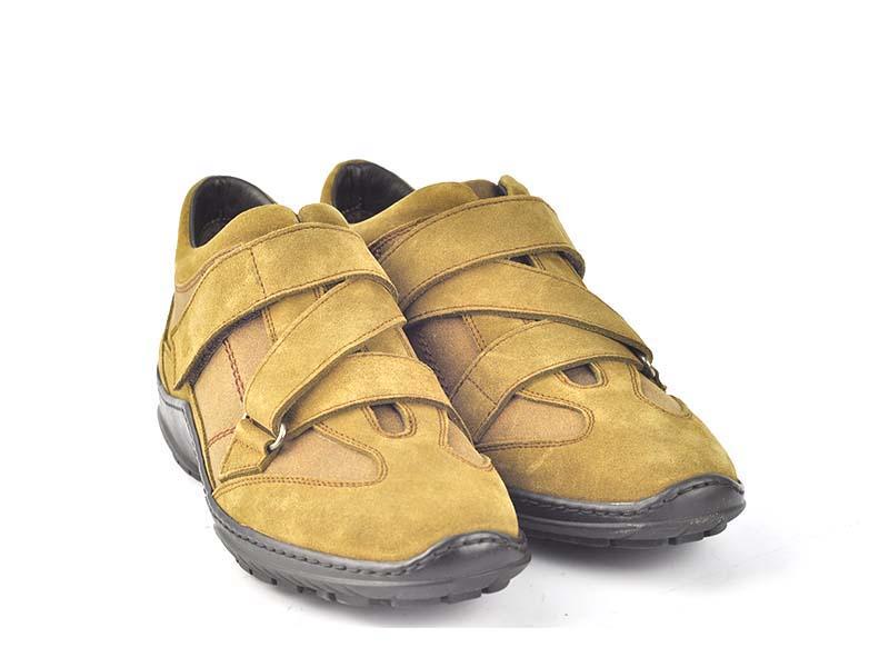 Pantofi sport din piele velur 7230-136