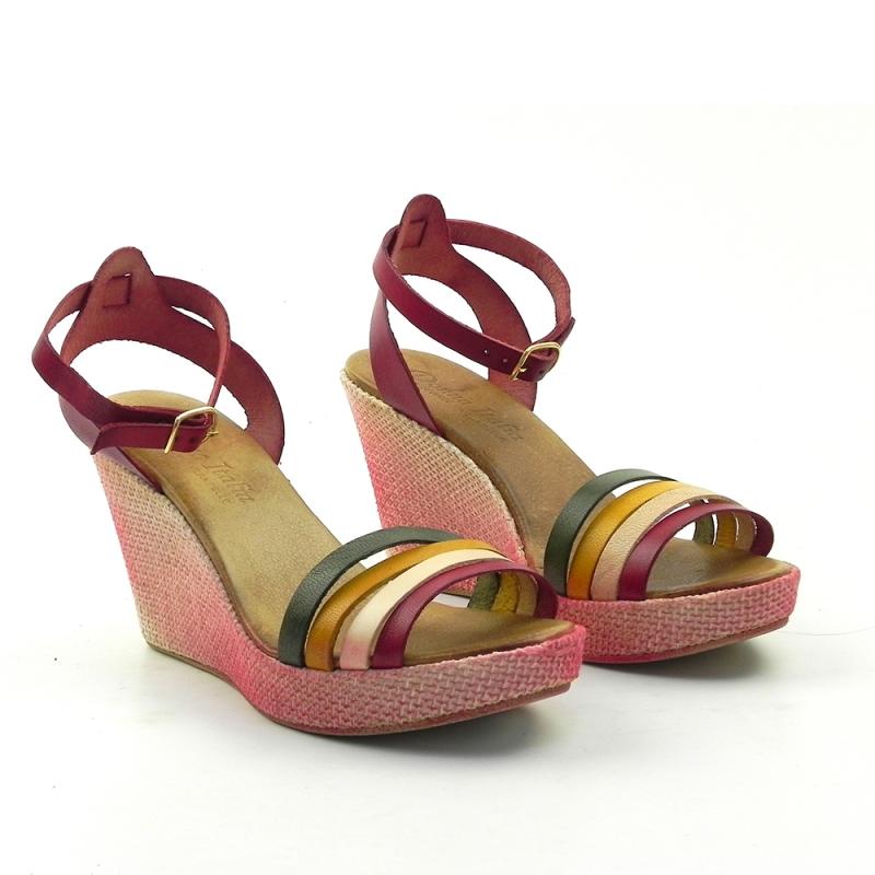 Sandale din piele naturala 304RCBV DNI