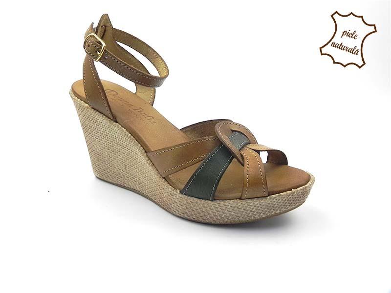 Sandale din piele naturala 309C DNI