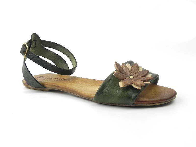 Sandale din piele naturala Dana D102