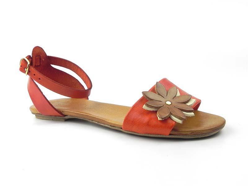 Sandale din piele naturala Dana D104