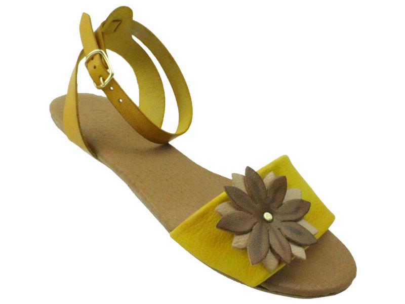 sandale din piele  naturala Dana D126