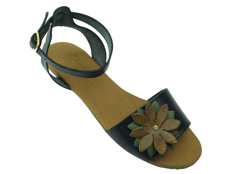 Sandale din piele naturala Dana D132