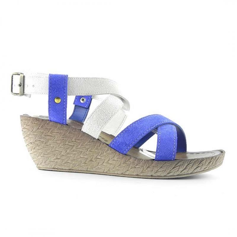 Sandale din piele naturala intoarsa Betty ITALY-08