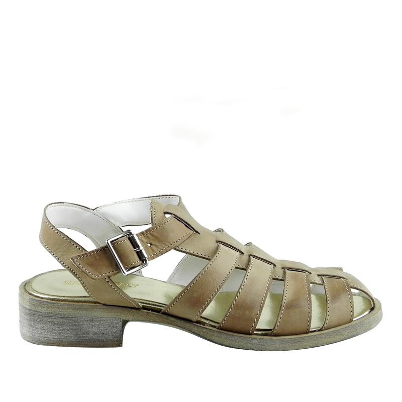 Sandale din piele naturala Ioana 3648M