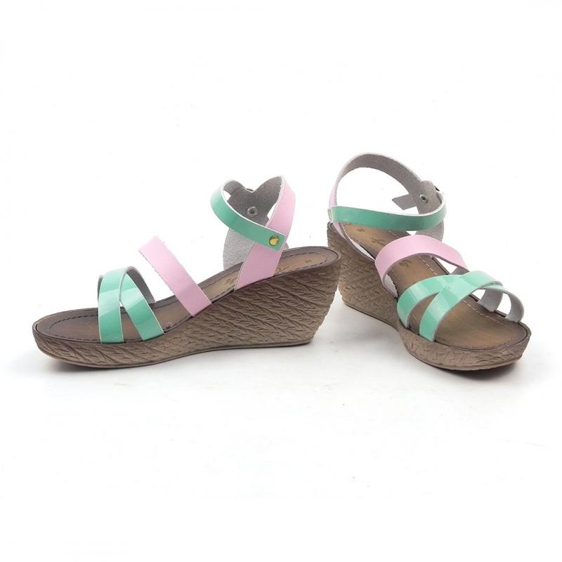 Sandale din piele naturala Raffaella ITALY-10